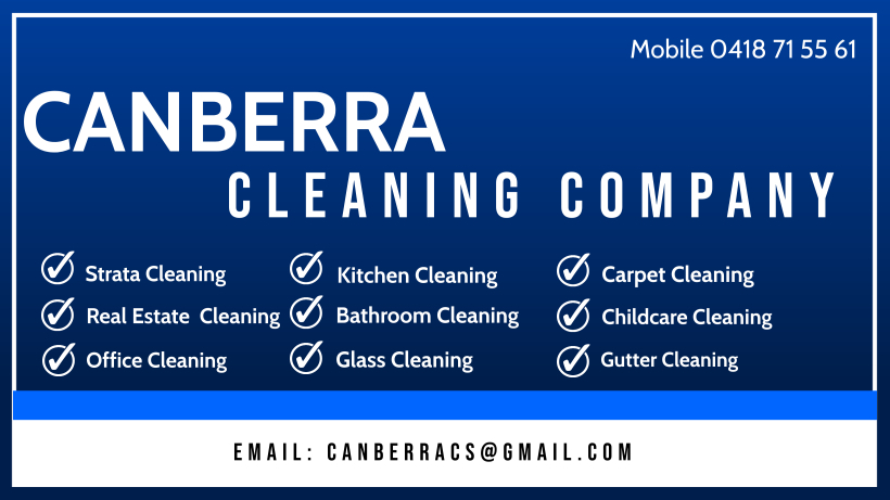 canberra cleaning company